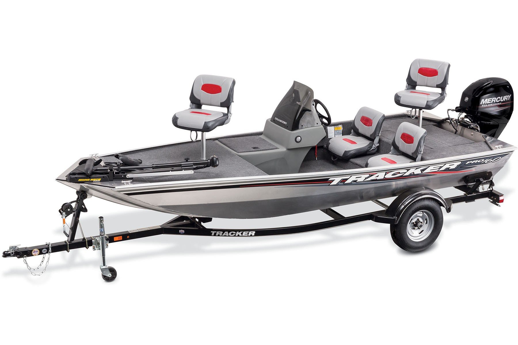Tracker pro 160 bass boats semi v tracker barcos for Bass pro fishing boats