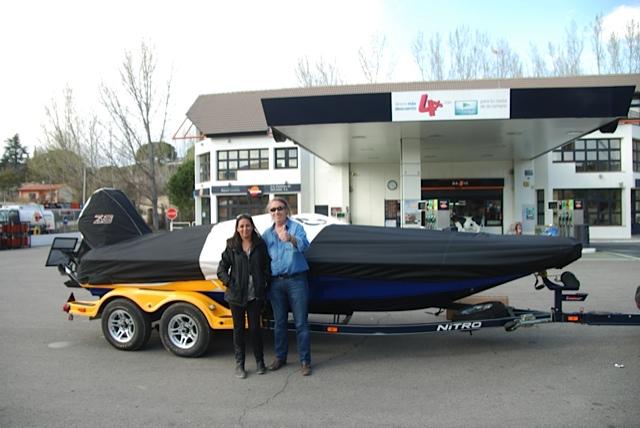 venta online barco nitro z8