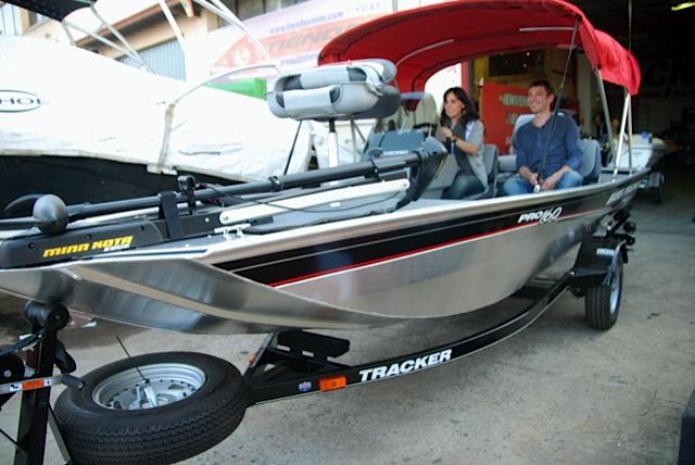 comprar barco pesca tracker